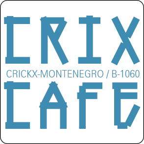 logo crixcafe blue